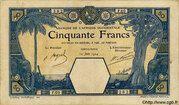 50 Francs (Porto-Novo) – avers