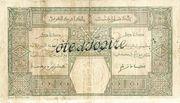 100 Francs (Grand-Bassam) – revers