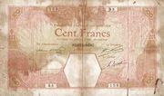 100 Francs (Porto-Novo) – avers