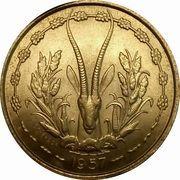 25 francs Togo – revers