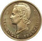 25 francs (essai) – avers