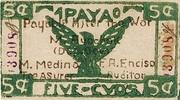 5 Centavos (Apayao) – avers