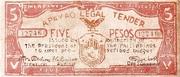 5 Pesos (Apayao) – avers