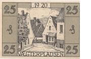 25 Pfennig (Apenrade) – revers