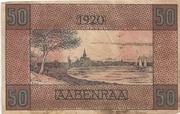 50 Pfennig (Apenrade) – revers