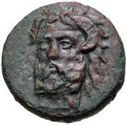 Bronze Æ19 (Aphytis) – avers