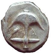 Drachme d'Apollonia Pontica – avers