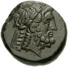 Bronze Æ18 (Apollonia Salbace) – avers