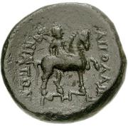 Bronze Æ18 (Apollonia Salbace) – revers