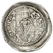 1 Denaro Gregorio di Montelongo – avers