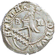1 denaro - Antonio I Caetani – avers