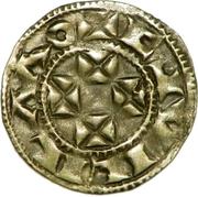 Denier bordelais - Guillaume X – avers