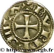 Denier bordelais - Guillaume X – revers