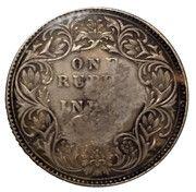 1 roupie - Abd Al-Aziz Bin Sa'ud (Nejd Countermarked Coinage) – revers