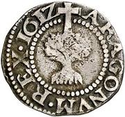 ½ real Philippe III – revers