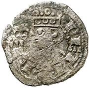 Obolo Pierre II Jaca – avers