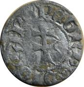 Dinero Pierre IV Saragosse – revers