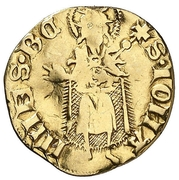 ½ florin Pierre IV Saragosse – avers