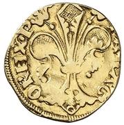 ½ florin Pierre IV Saragosse – revers
