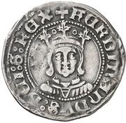 ½ real Ferdinand II Saragosse – avers
