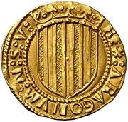 1 ducado Jean II – revers