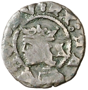 Dinero Charles I – avers