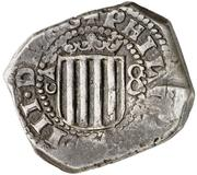 8 reales Philippe IV – avers