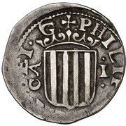 1 real Philippe IV – avers