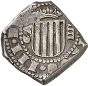 4 reales Philippe IV – avers