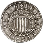 8 reales Philippe III – avers