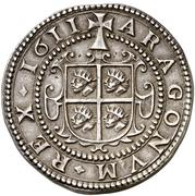8 reales Philippe III – revers