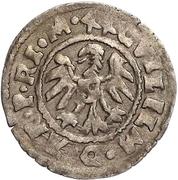 1 schilling Guillaume de Brandebourg (Koknese; bouclier régulier; croix gauche et crozier droite) – avers