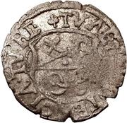 1 schilling Guillaume de Brandebourg (Koknese; grand bouclier; sans frontier) – revers