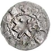 1 pfennig Sylvestre Stodewescher (sans cercle) – revers