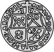 1 mark Thomas Schöning (Koknese) – avers
