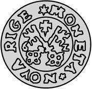1 schilling Guillaume de Brandebourg (petit aigle) – revers