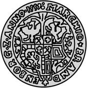 1 thaler Guillaume de Brandebourg – revers