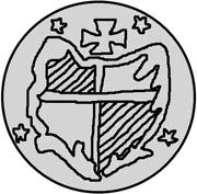 1 pfennig Guillaume de Brandebourg – avers