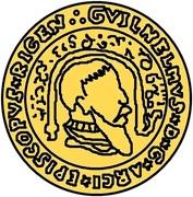 1 goldgulden Guillaume de Brandebourg – avers