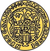 1 goldgulden Guillaume de Brandebourg – revers
