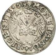 1 ferding Guillaume de Brandebourg – revers