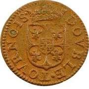 Double-Tournois Charles Ier de Gonzague (Type 3) – revers