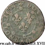 Double-Tournois Charles Ier de Gonzague (Type 10) – revers