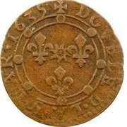 Double-Tournois Charles Ier de Gonzague (Type 14) – revers