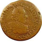 Double-Tournois Charles Ier de Gonzague (Type 13) – avers