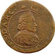 Double-Tournois Charles Ier de Gonzague (Type 20) – avers
