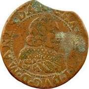 Double-Tournois Charles Ier de Gonzague (Type 16) – avers