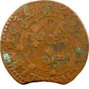 Double-Tournois Charles Ier de Gonzague (Type 16) – revers
