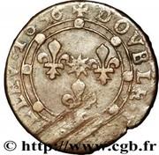 Double-Tournois Charles Ier de Gonzague (Type 17) – revers