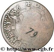 Double-Tournois Charles Ier de Gonzague (Type 18) – revers
